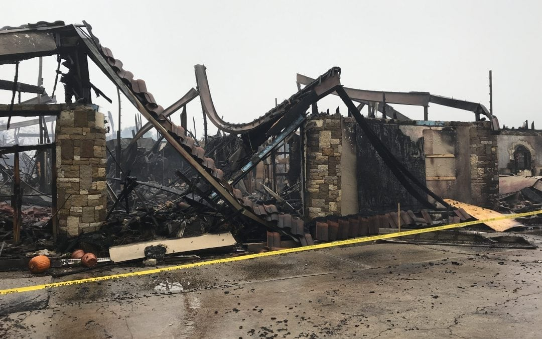 Tapatio Springs Clubhouse Burns to Ground