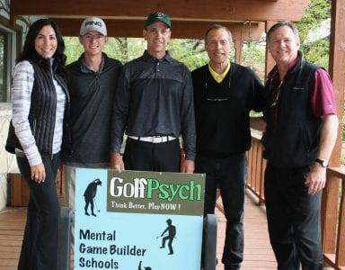 October 19-21 Golfpsych Mental Game School - Stephany Ritchie, Spencer Olejniczak, Rob Ritchie, Jon Stabler, Steve Olejniczak