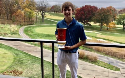 GolfPsych Student Update: 2018 KC Masters Champion, Justin Wingerter