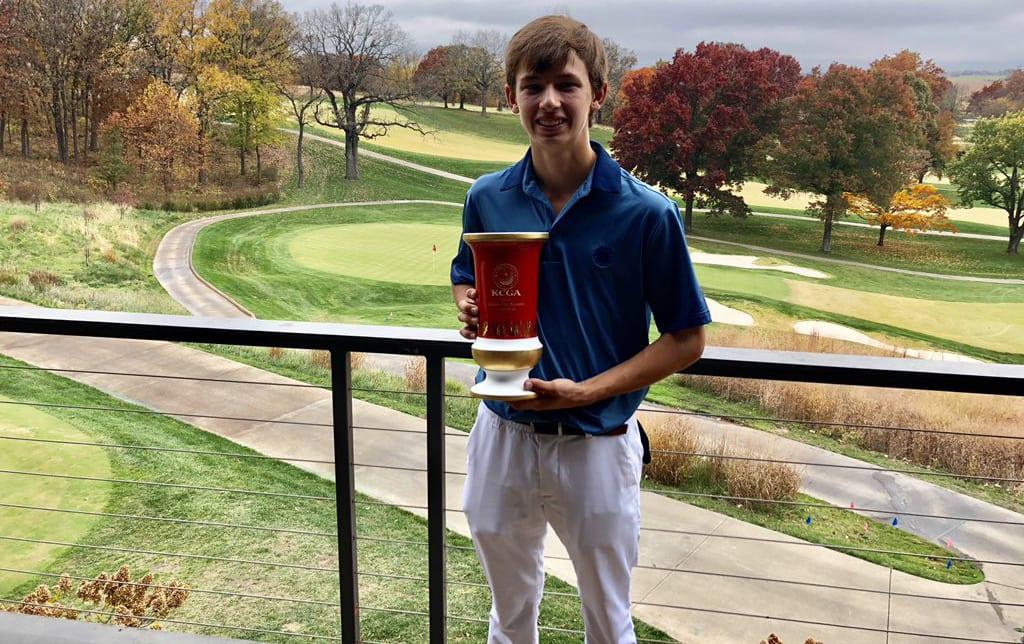 GolfPsych Student Update: 2018 KC Masters Champion, Justin Wingerter