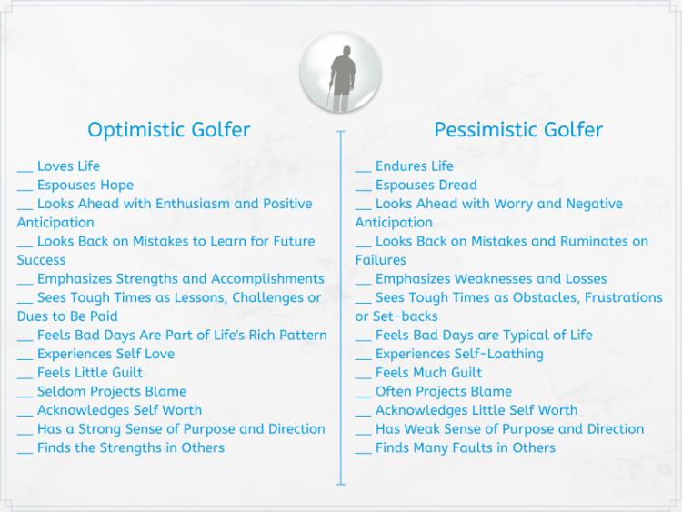 Golf Optimism